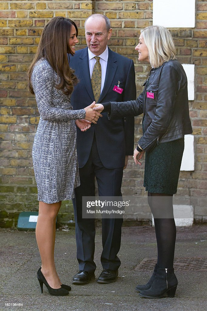 The Duchess Of Cambridge Visits Hope House : News Photo