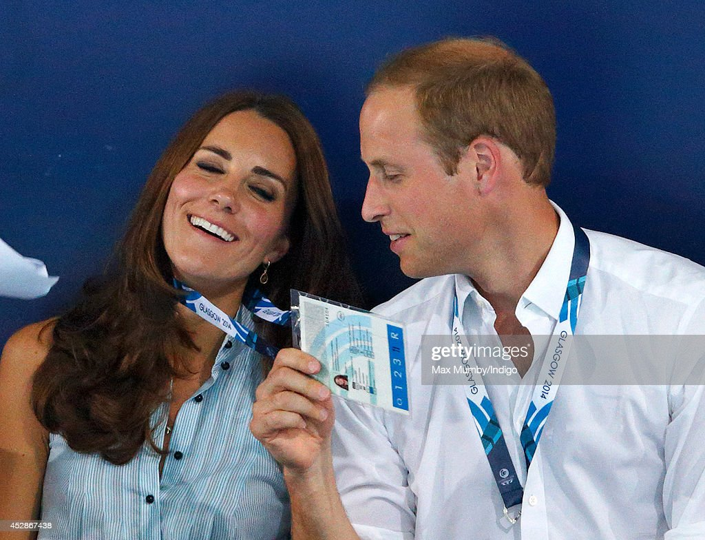 Royal Family & Celebrities At The 20th Commonwealth Games : News Photo