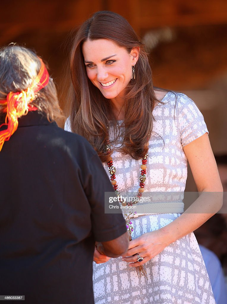 The Duke And Duchess Of Cambridge Tour Australia And New Zealand - Day 16 : News Photo