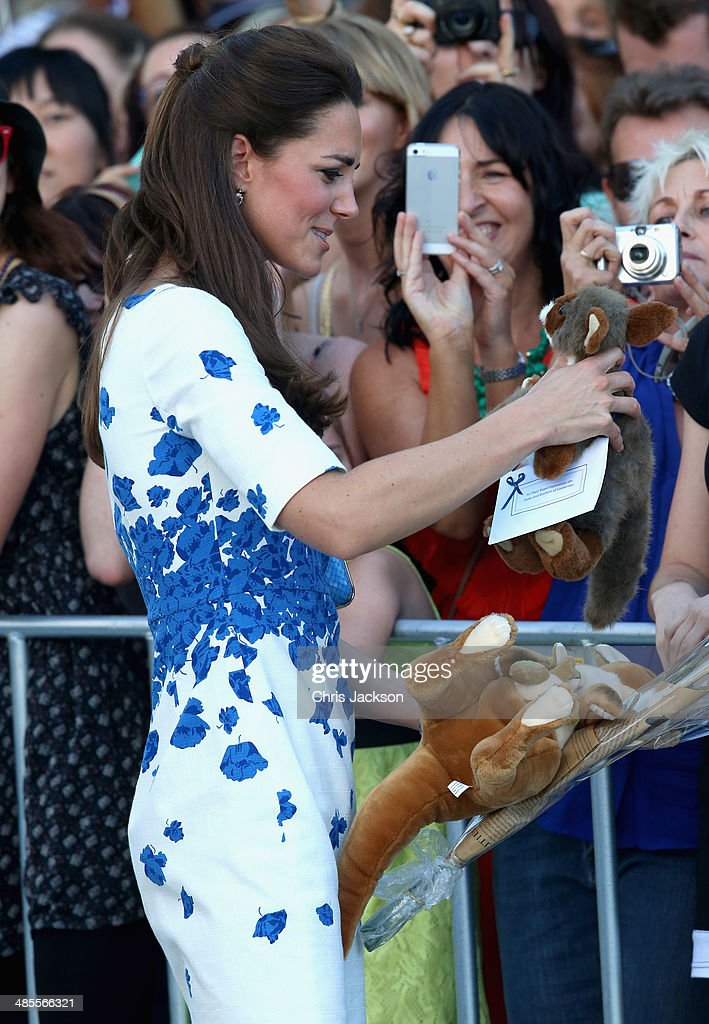 The Duke And Duchess Of Cambridge Tour Australia And New Zealand - Day 13 : News Photo