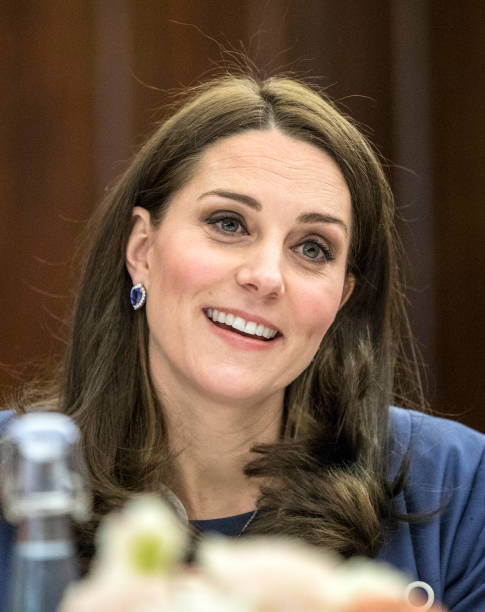 the duchess of cambridge launch 39 s 39 nursing now 39 campaign photos and images getty images. Black Bedroom Furniture Sets. Home Design Ideas