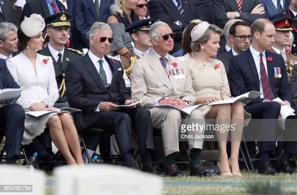 Catherine Duchess of Cambridge King Philippe of Belgium Prince Charles Prince of Wales Queen Mathilde of Belgium and Prince William Duke of Cambridge...