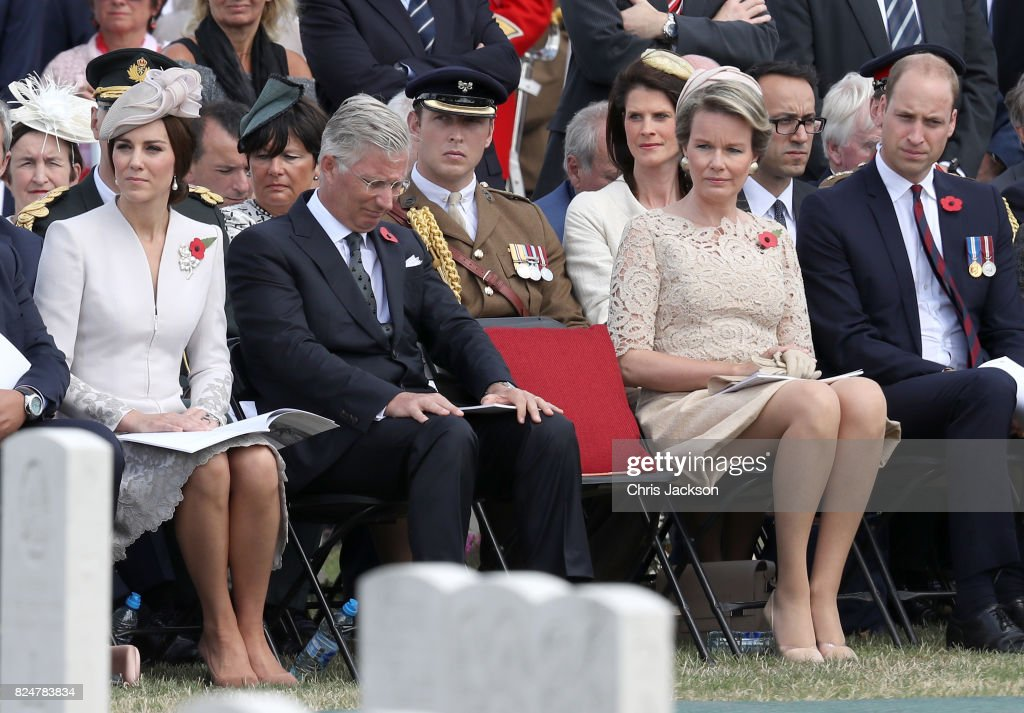 Members Of The Royal Family Attend The Passchendaele Commemorations In Belgium