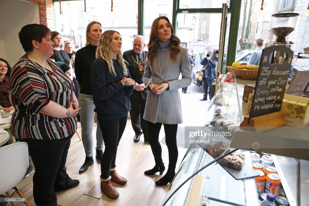 The Duchess Of Cambridge Takes Landmark Early Years Survey To Scotland : News Photo