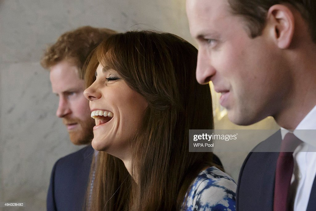 Duke And Duchess Of Cambridge And Prince Harry Attend The Charities Forum, BAFTA