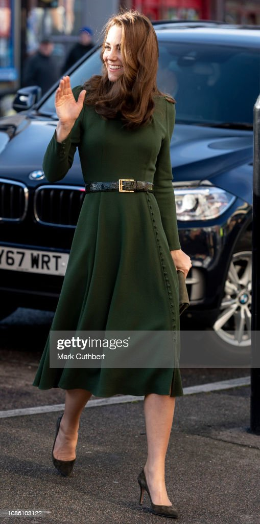 The Duchess Of Cambridge Launches Family Action Support Line : News Photo