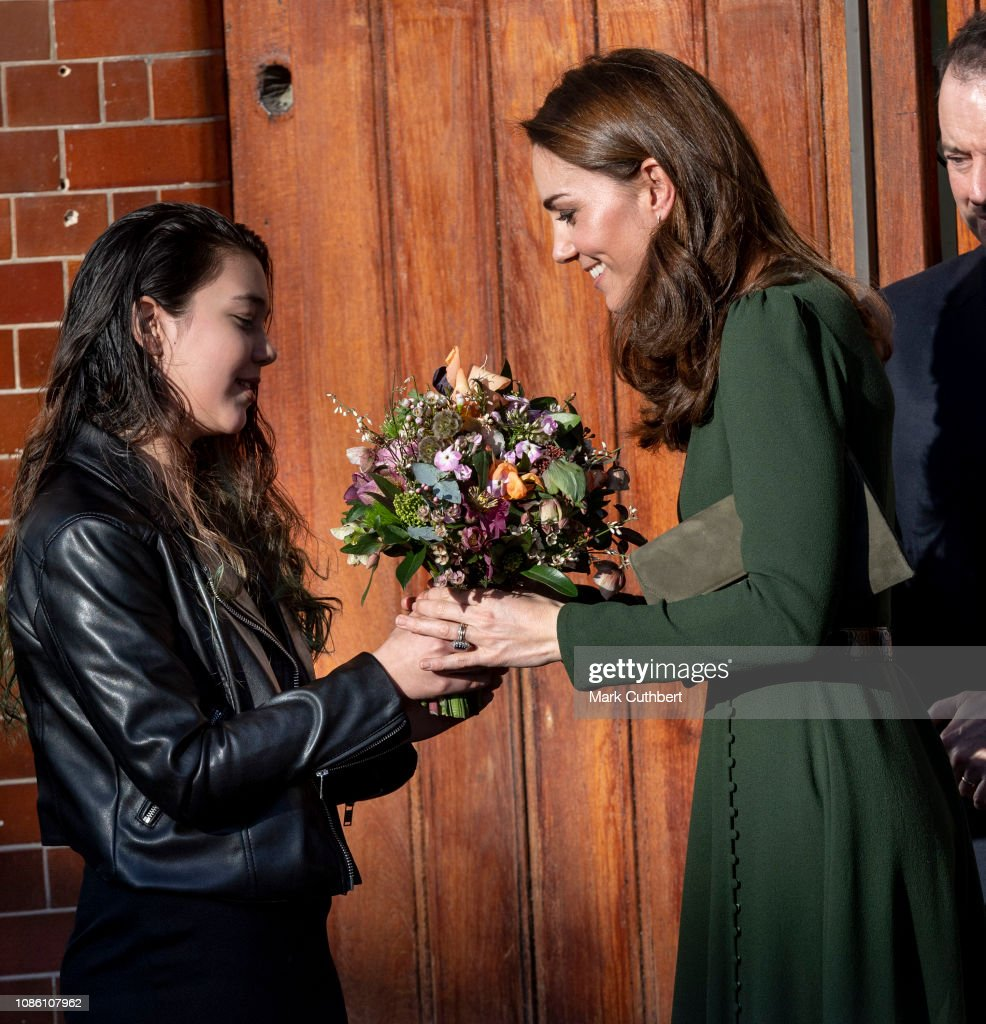 The Duchess Of Cambridge Launches Family Action Family : News Photo