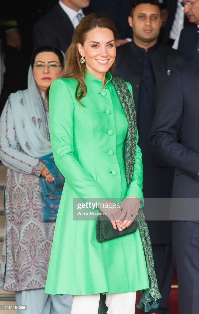 The Duke And Duchess Of Cambridge Visit Islamabad - Day Two : ニュース写真