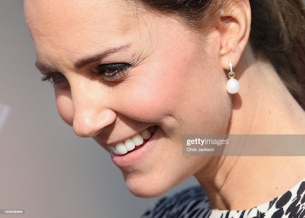The Duchess Of Cambridge Visits Margate : News Photo