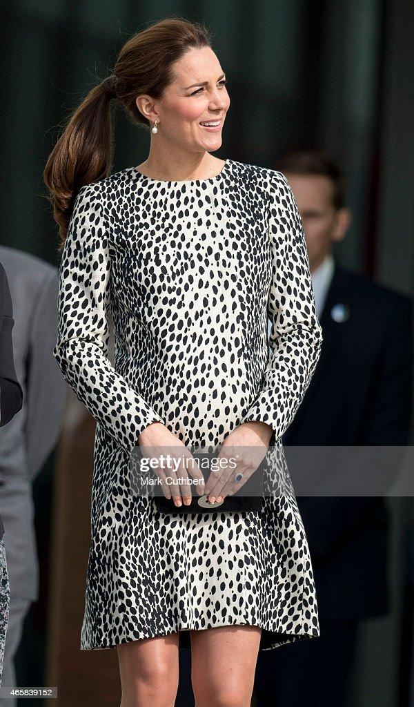 The Duchess Of Cambridge Visits Margate : News Photo