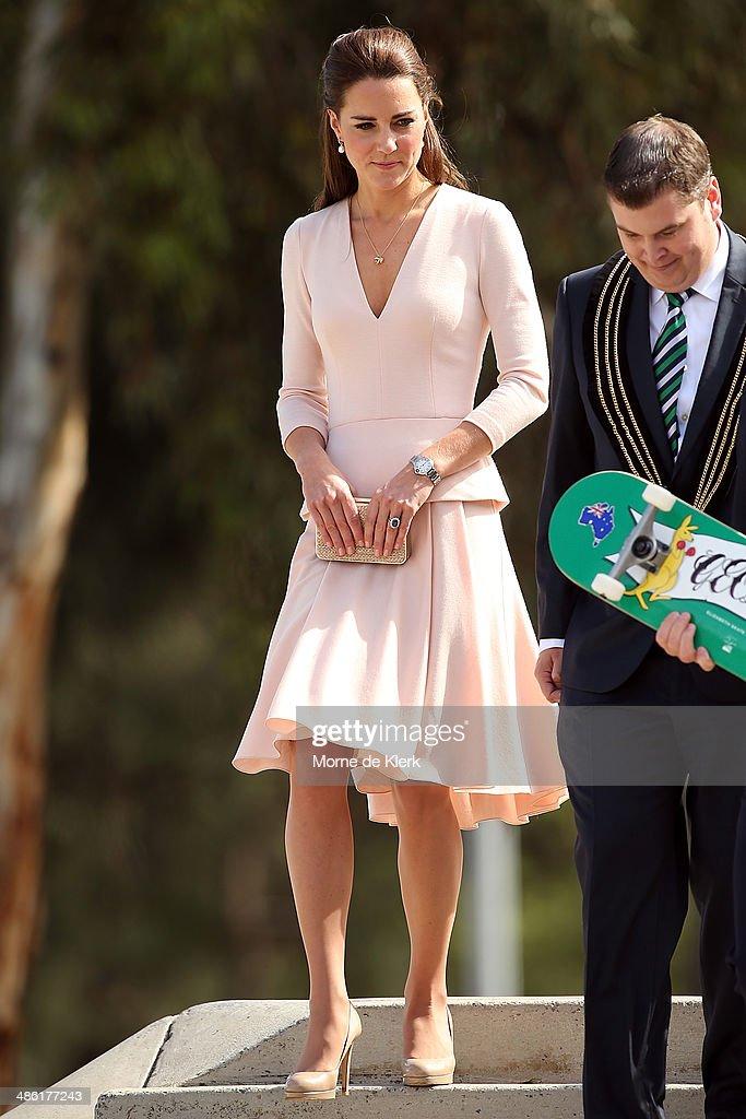 The Duke And Duchess Of Cambridge Tour Australia And New Zealand - Day 17 : News Photo