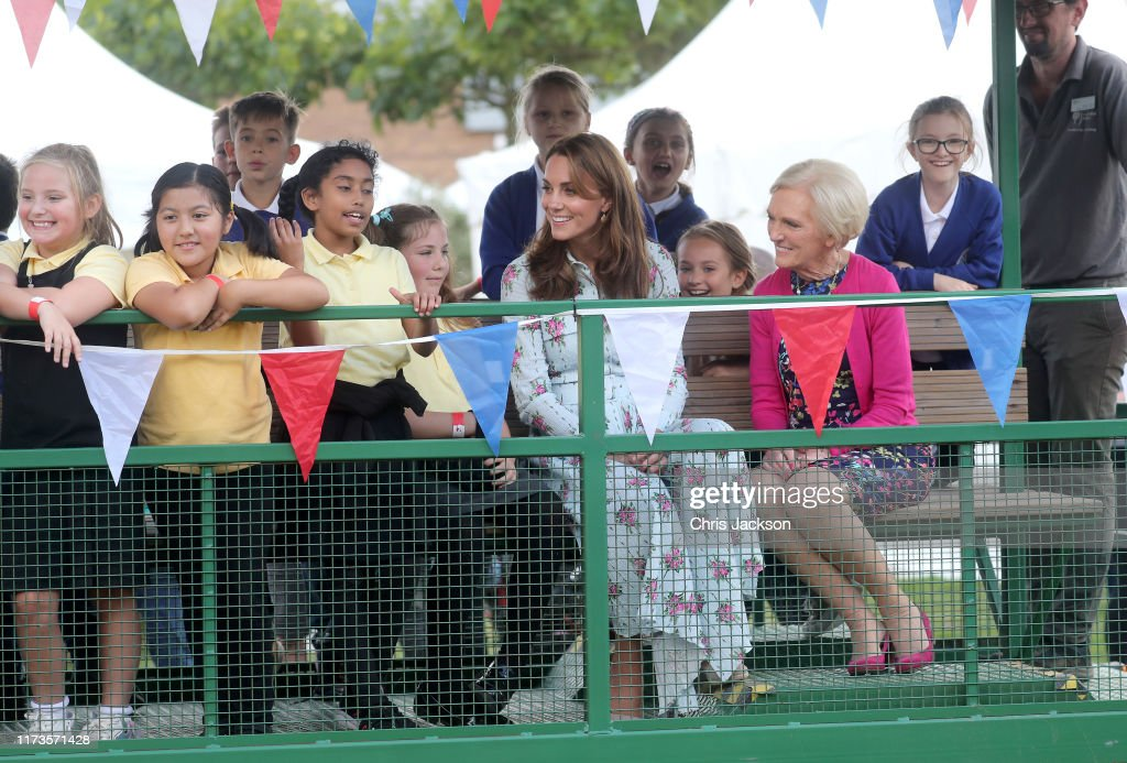 "The Duchess Of Cambridge Attends ""Back to Nature"" Festival : News Photo"