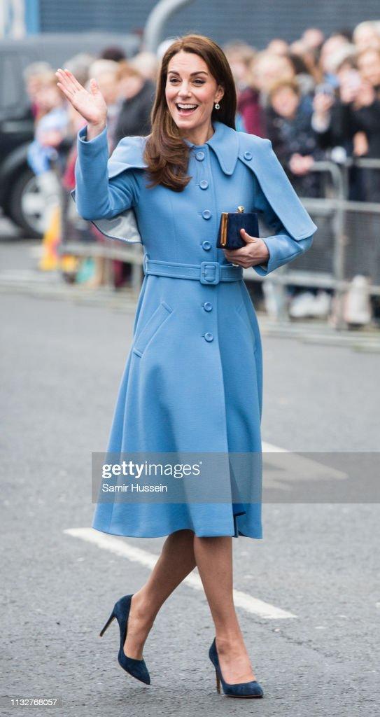 Duke And Duchess Of Cambridge Visit Northern Ireland - Day Two : News Photo