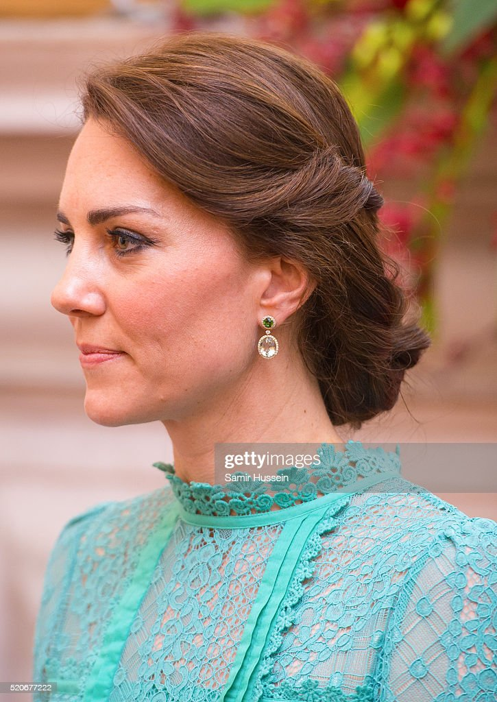 The Duke & Duchess Of Cambridge Visit India & Bhutan - Day 3 : News Photo