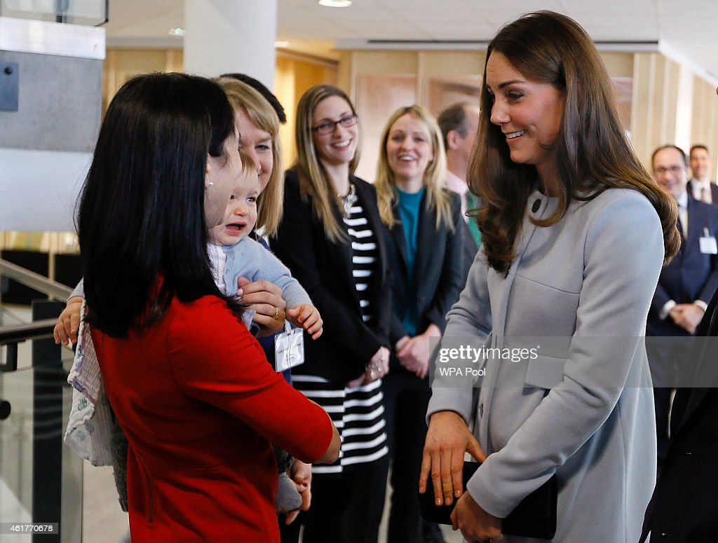 The Duchess Of Cambridge Formally Opens The Kensington Aldridge Academy : News Photo