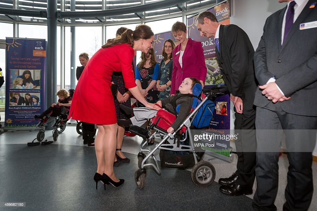 The Duchess Of Cambridge Attends East Anglia's Children's Hospices Appeal Launch : News Photo