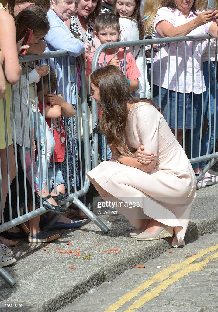 Royal Visit to Cornwall : News Photo
