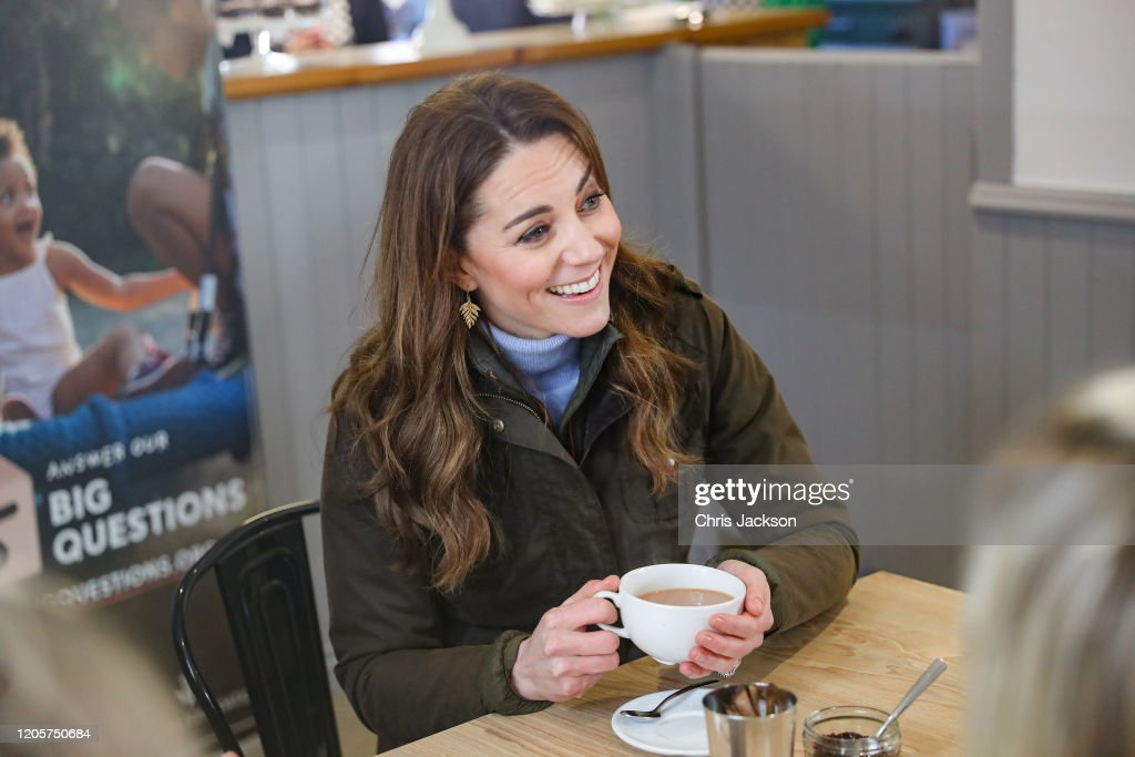 The Duchess Of Cambridge Visits Northern Ireland : News Photo