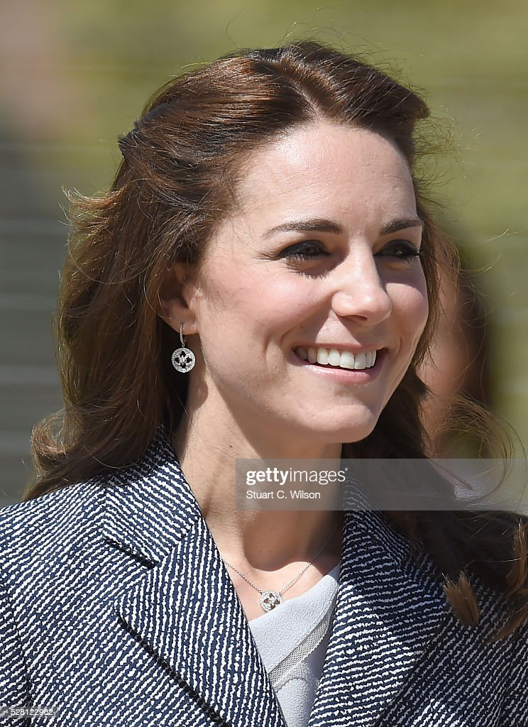 The Duchess Of Cambridge Will Open The Magic Garden At Hampton Court Palace : News Photo