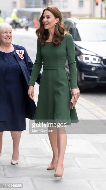 Catherine Duchess of Cambridge officially opens the new Centre of Excellence at the Anna Freud Centre on May 1 2019 in London England The Duchess of...
