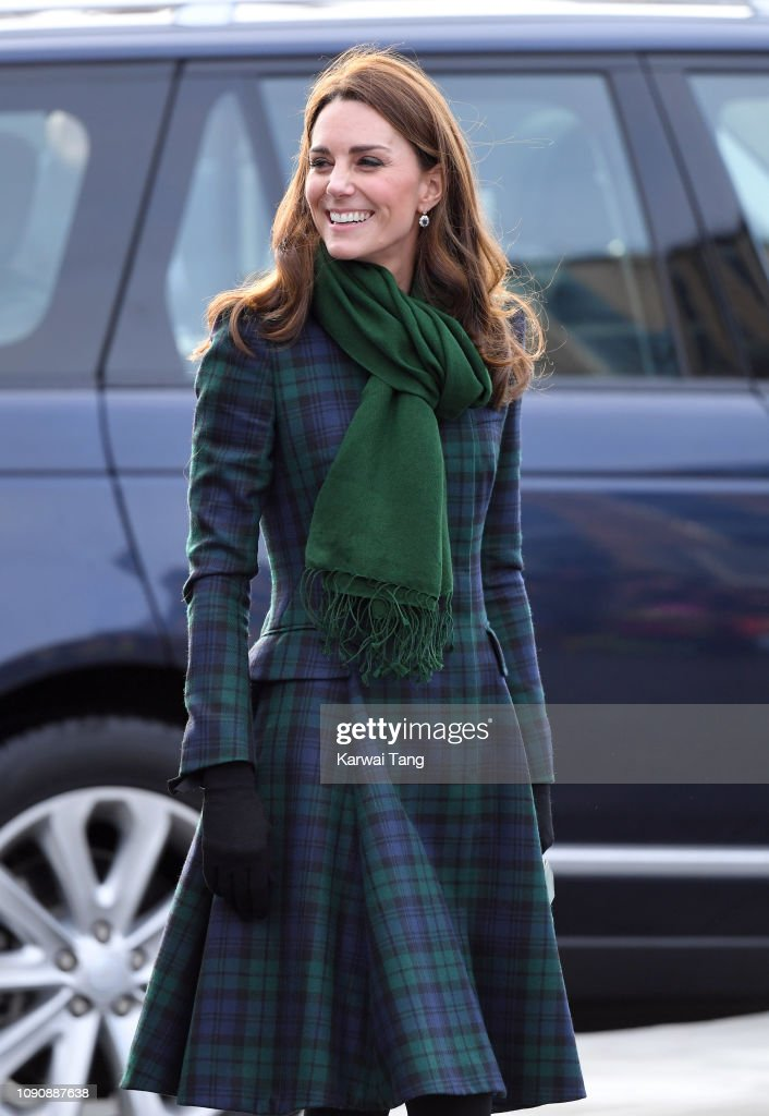 The Duke And Duchess Of Cambridge Visit Dundee : Nachrichtenfoto