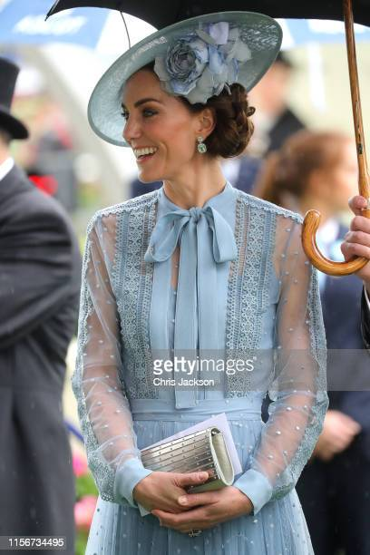 Catherine Duchess of Cambridge on day one of Royal Ascot at Ascot Racecourse on June 18 2019 in Ascot England