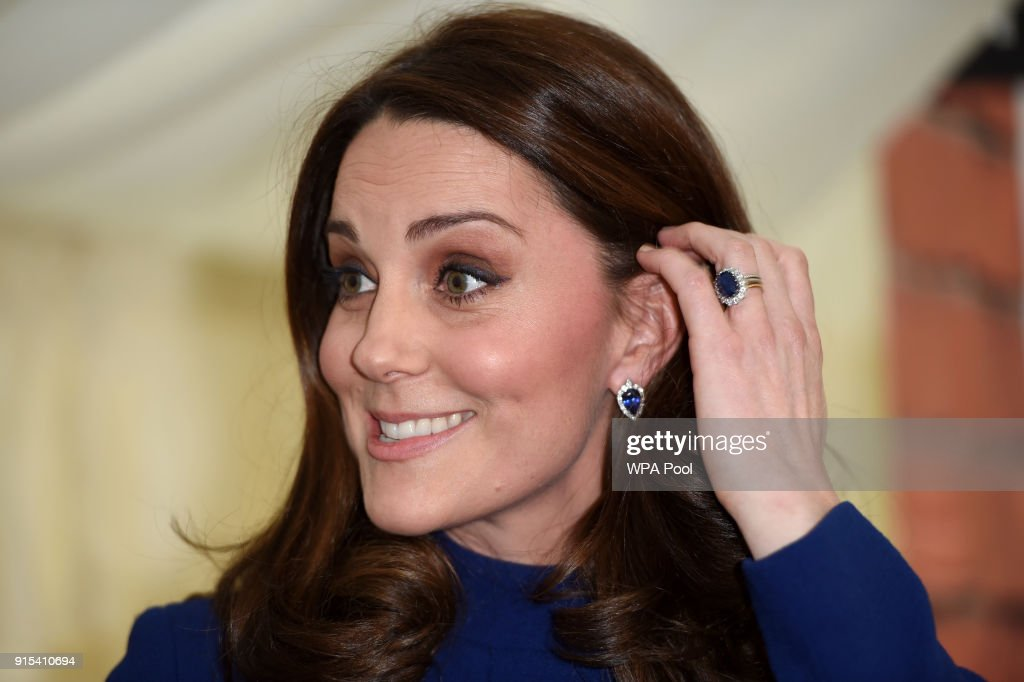 Catherine, Duchess of Cambridge opens an Action on Addiction Community Treatment Centre on February 7, 2018 in Wickford, United Kingdom. The Duchess will join a round-table discussion with healthcare professionals, meet staff and clients at different points of their recovery, and attend a reception to commemorate the opening.