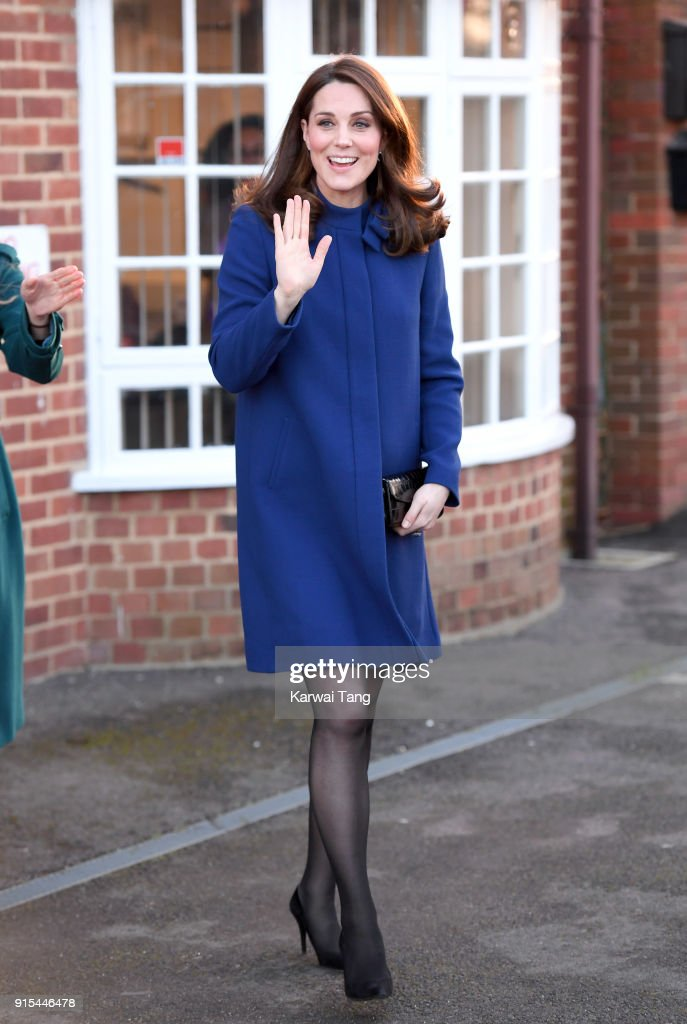 The Duchess Of Cambridge Opens Action On Addiction Community Treatment Centre