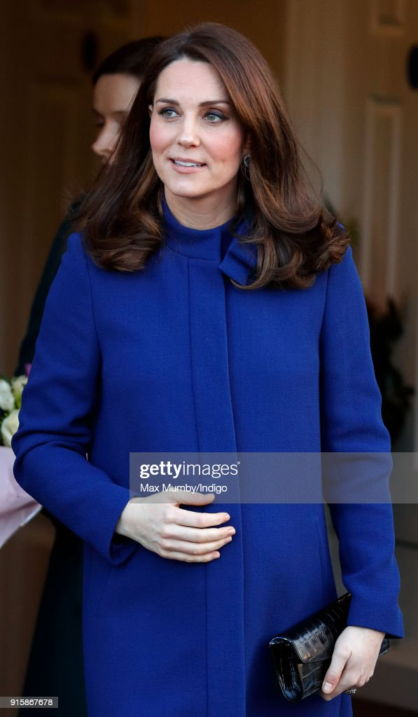 Catherine, Duchess of Cambridge opens the Action on Addiction Community Treatment Centre in Essex on February 7, 2018 in Wickford, England.