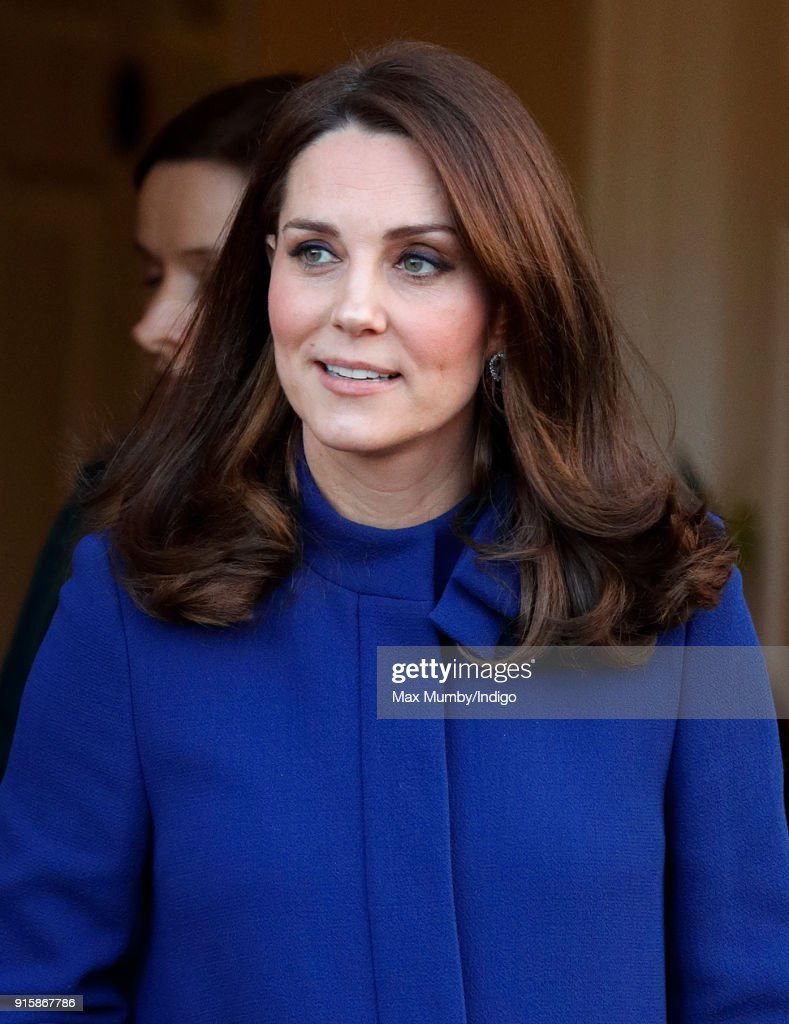 The Duchess Of Cambridge Opens Action On Addiction Community Treatment Centre : News Photo