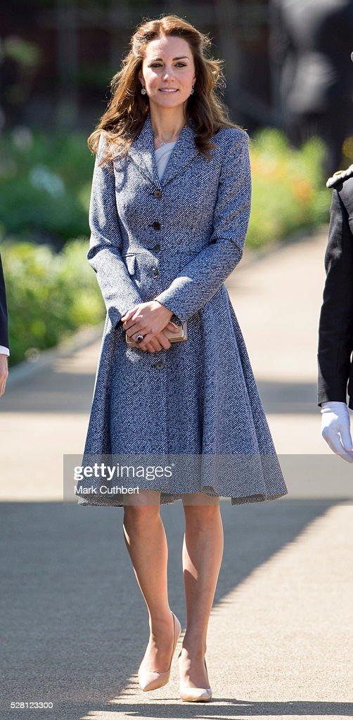 The Duchess Of Cambridge Will Open The Magic Garden At Hampton Court Palace : News Photo