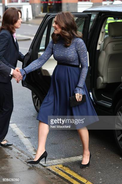 Catherine Duchess of Cambridge opens the new Place2Be Headquarters on March 7 2018 in London England