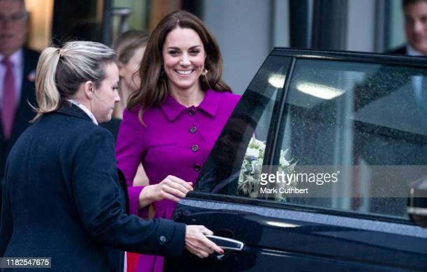 Catherine Duchess of Cambridge opens The Nook Children Hospice on November 15 2019 in Framingham Earl NorfolkThe Duchess of Cambridge is Royal Patron...