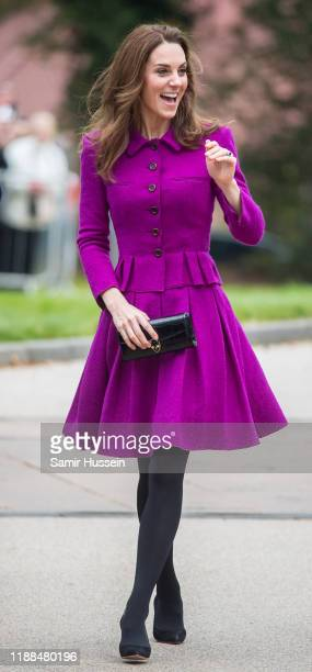 Catherine Duchess of Cambridge opens The Nook Children Hospice on November 15 2019 in Framingham Earl NorfolkThe Duchess of Cambridge is Royal Patron...