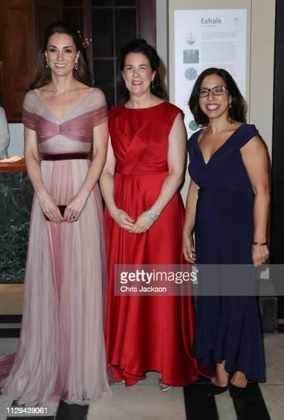 Catherine Duchess of Cambridge patron of 100 Women in Finance's Philanthropic Initiatives Amanda Pullinger Chief Executive of 100 Women in Finance...