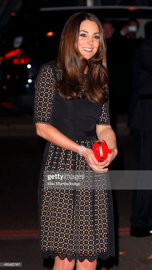 The Duchess Of Cambridge Attends The SportsAid Annual Dinner : News Photo