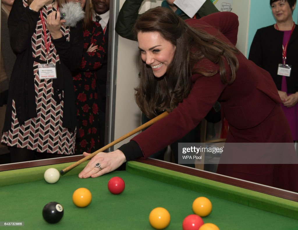 The Duchess Of Cambridge Visits Action For Children In Wales