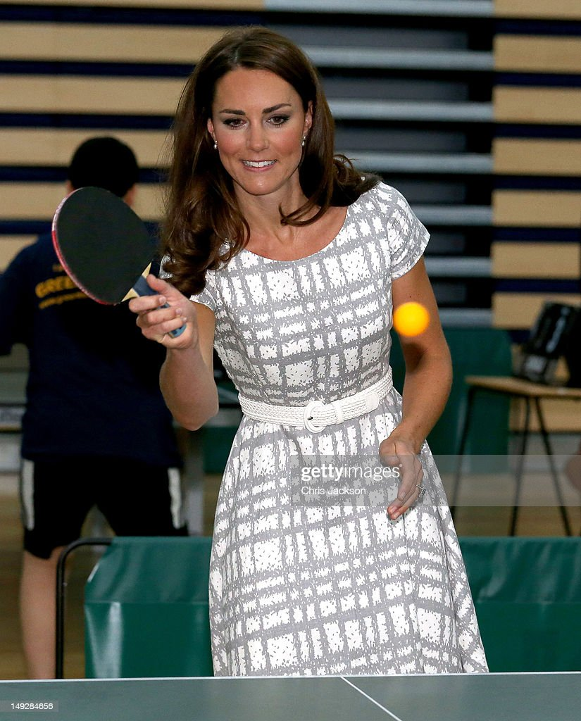 The Duke And Duchess Of Cambridge And Prince Harry Visit Bacon's College : News Photo