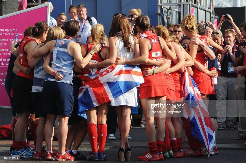 Olympics Day 14 - Hockey: New Zealand v Great Britain : News Photo