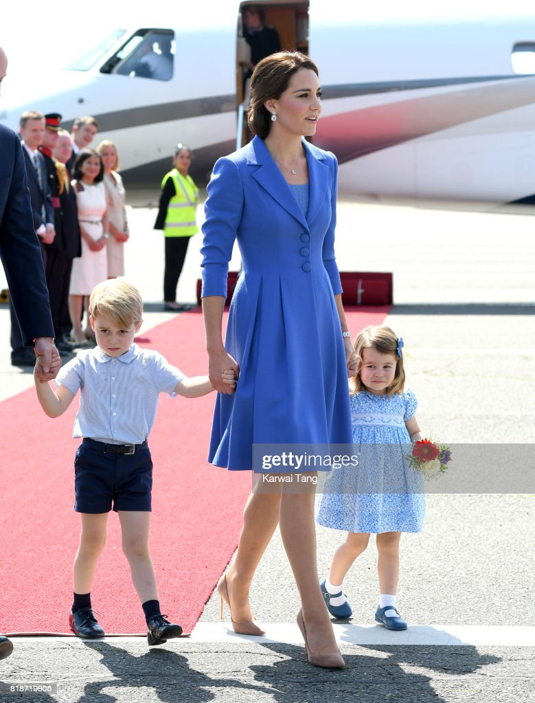 The Duke And Duchess Of Cambridge Visit Germany - Day 1 : News Photo