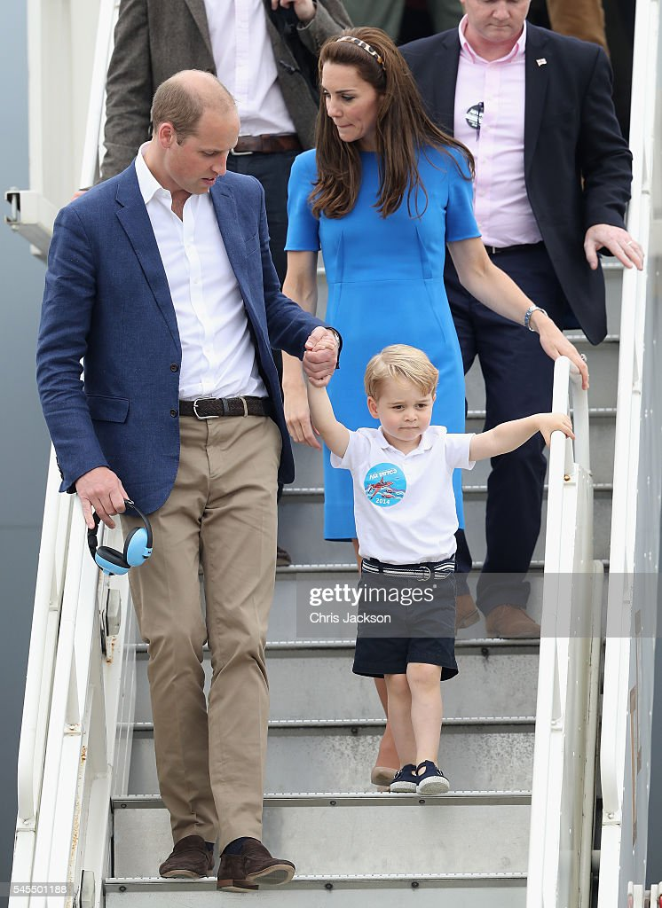 The Duke And Duchess Of Cambridge Visit The Royal International Air Tattoo : ニュース写真
