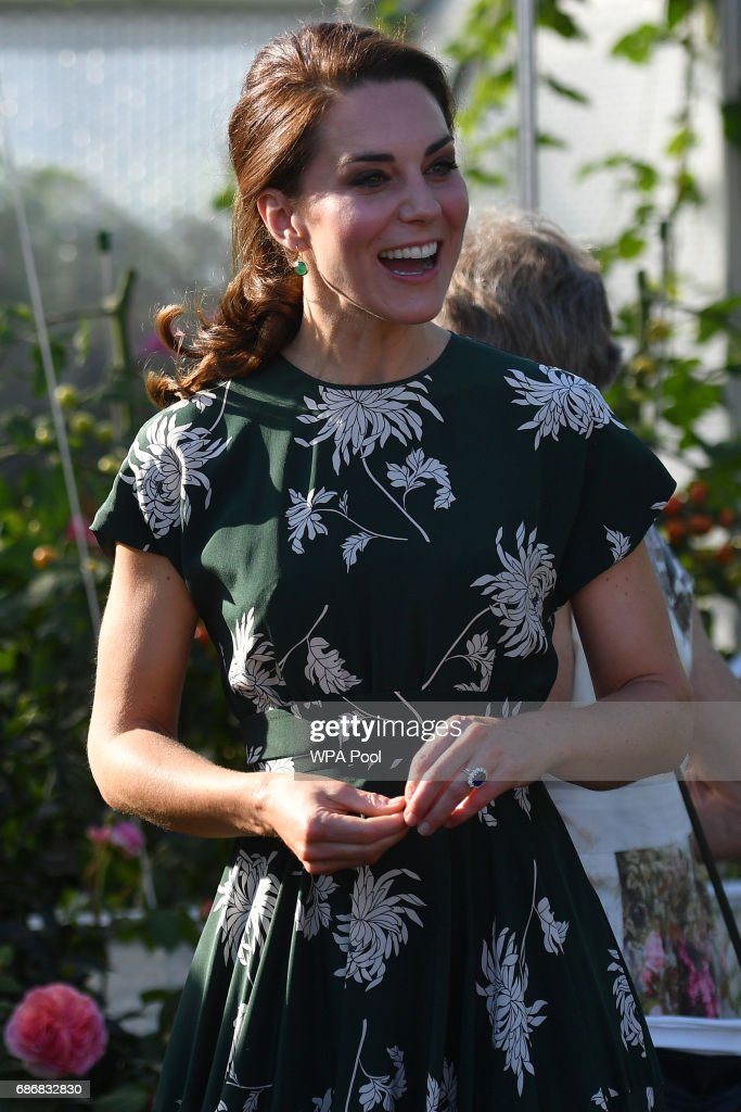 Members Of The Royal Family Visit The RHS Chelsea Flower Show : ニュース写真