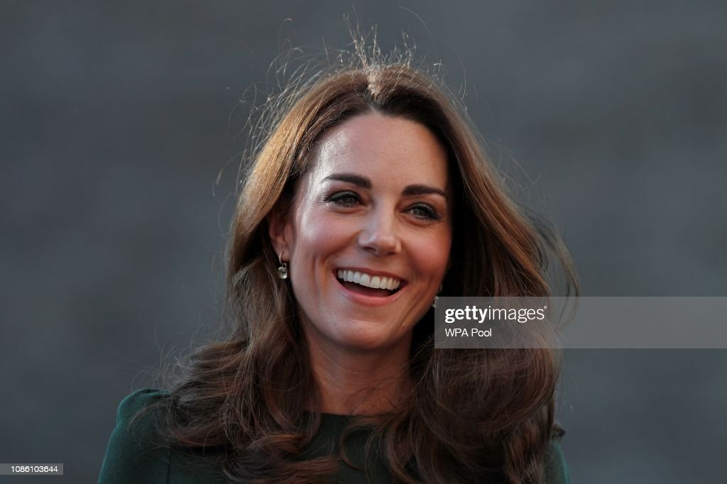 The Duchess Of Cambridge Launches Family Action Support Line : Nachrichtenfoto