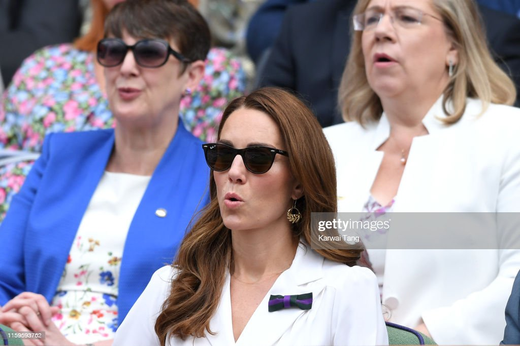 Celebrities Attend Wimbledon 2019 : News Photo