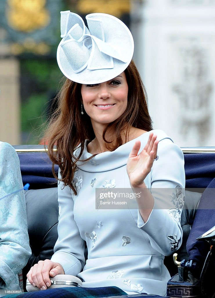 Trooping The Colour 2012 : News Photo