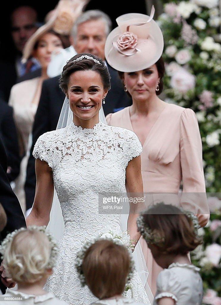 Wedding Of Pippa Middleton And James Matthews : Nachrichtenfoto