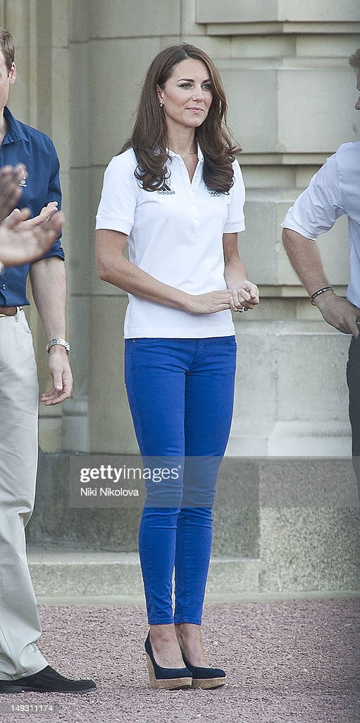Catherine, Duchess of Cambridge sighting on July 26, 2012 in London, England.