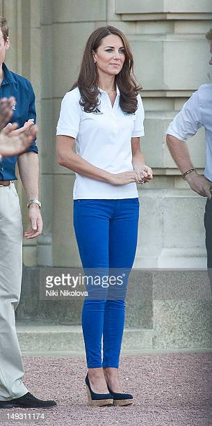 Catherine Duchess of Cambridge sighting on July 26 2012 in London England