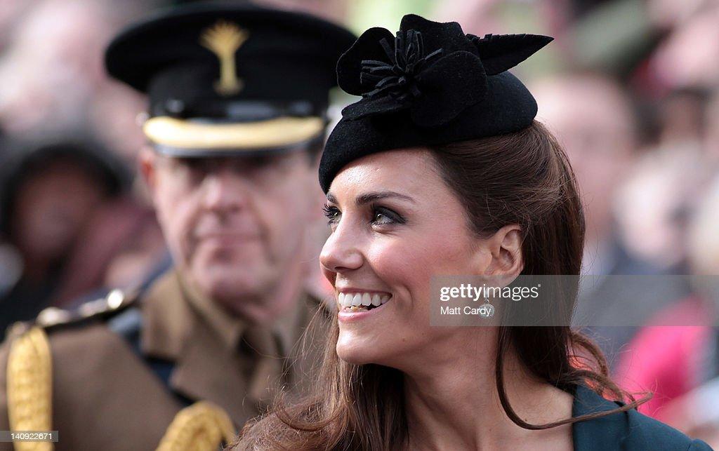 Queen Elizabeth II, Prince Philip, Duke Of Edinburgh And Catherine, Duchess Of  Cambridge Visit Leicester : News Photo
