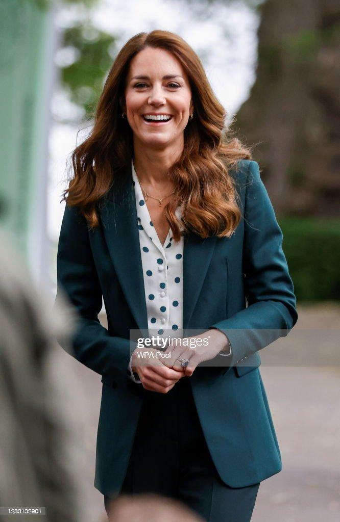 The Duke And Duchess Of Cambridge Visit Scotland - Day Seven : ニュース写真
